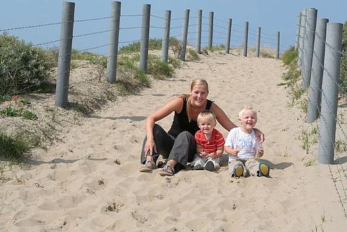 Met de kids naar het strand
